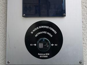Qr Code NFC restaurant